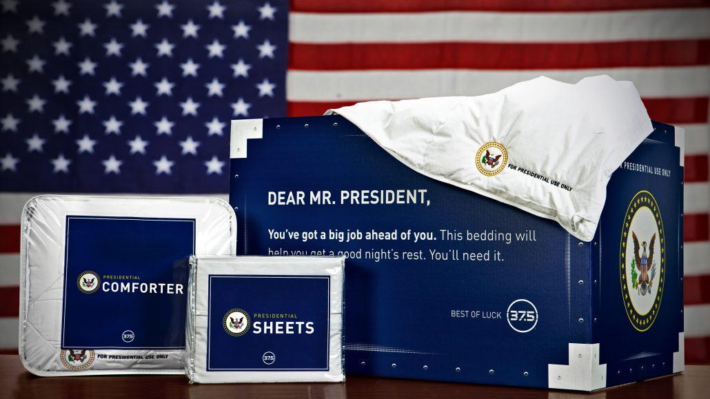 37.5 Trump Box and Sheets